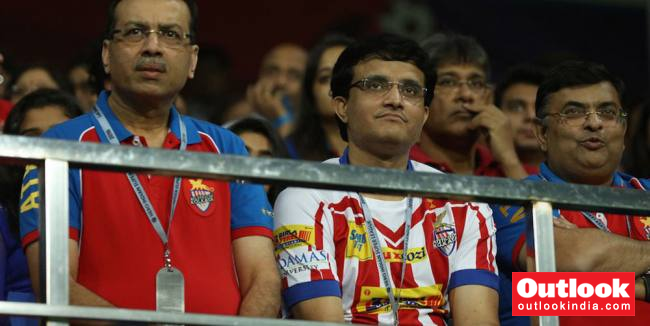 BCCI President-Elect Sourav Ganguly Choosen As The Face Of Indian Super League