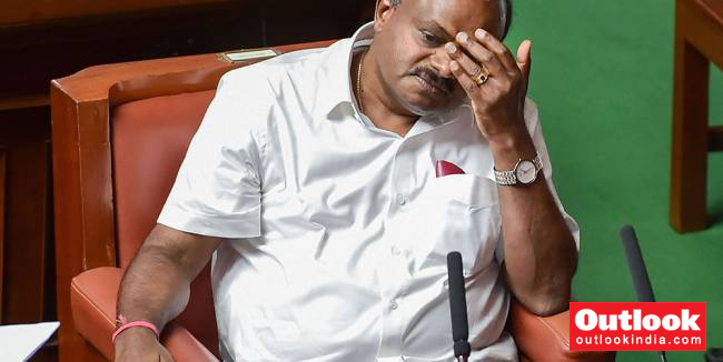 'Mere Posturing,' Says BJP On CM Kumaraswamy's Decision To Face No-Confidence Motion
