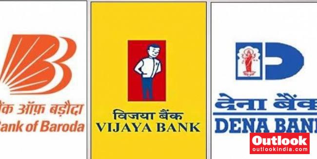 cabinet approves merger of dena and vijaya bank with bank