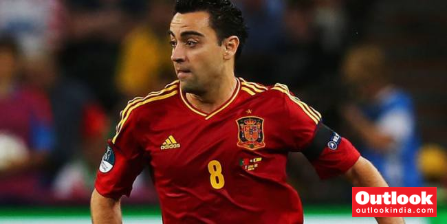 On This Day In 2012, Spain Set A Record For Most Passes In A UEFA Euro Fixture With Xavi Hernandez Registering 136 Alone
