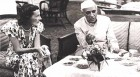 <b>Subtle bond</b> Edwina Mountbatten has tea with Nehru