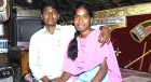 Happy together 'Chandu' and Swapna