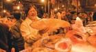 <b>Rui generis</b> Chandan Mitra at the CR Park market in Delhi