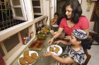 <b>Goodies galore</b> The south Gujarat and Mumbai influence shows in the dishes wrapped in banana leaf