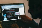Backers' pay An online poster put out by Anonymous, a group of hackers that is targeting the anti-WikiLeaks establishment