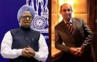 <b>GoI vs Devas</b> The PM and R. Vishwanathan, president & CEO, Devas Multimedia