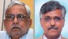 Petroleum secretary Vivek Rae (left) stood up for Giridhar Aramane, in vain