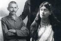 When Gandhi Nearly Slipped