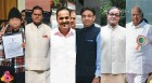 <b>Richest RS members</b> (From left to right) R.K. Sinha Rs 800 crore; T.S. Reddy Rs 400 crore; Sanjay Kakade Rs 400 crore; K.D. Singh Rs 80 crore; Sanjay Singh Rs 36 crore; Sharad Pawar Rs 32 crore