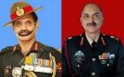 Lieutenant Generals Dalbir Singh Suhag and Ravi Dastane