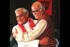 <b>Shapers of the party</b> Atal Behari Vajpayee and Lal Krishna Advani in New Delhi in 1996
