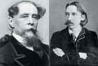 <b>The immortals</b> Charles Dickens and Robert Louis Stevenson