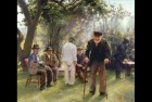Old Men In Rockingham Park, painting by Walter Bonner Gash