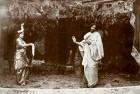 Tagore performing the title role inValmiki Pratibha (1881)