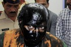 <b>En Route:</b> to Kasuri's book launch, Kulkarni was attacked by Shiv Sena men