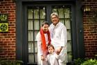 Sonali Gulati and her partner Geeta Jhaveri with their son Rohan