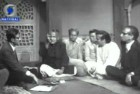 <B>Poet, teacher, translator</b> Firaq Gorakhpuri (second from left) at a DD programme
