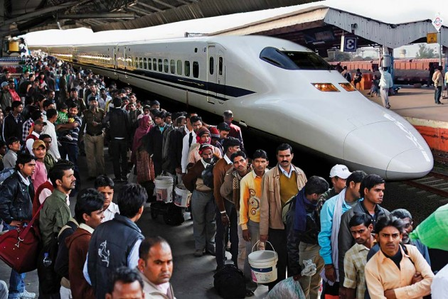 bullet trains in india pros and The length of a train, including the longest trains,  india – 24-coach trains are standard for most popular long distance services,.