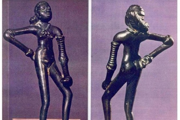 Historian stakes new claim on ancient statue from the Harappan civilization