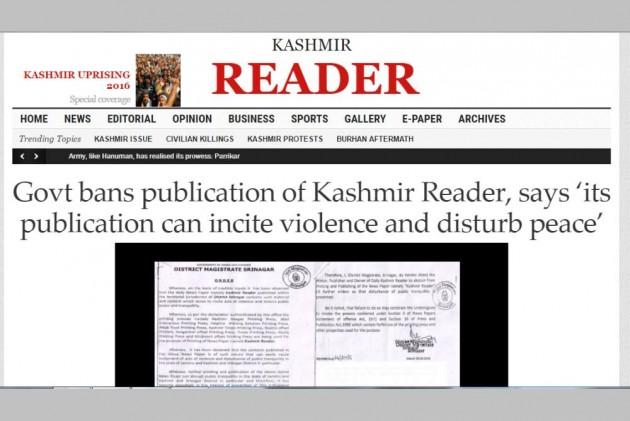 Nearly 3 Months After, Mehbooba Govt Lifts Ban On 'Kashmir Reader'