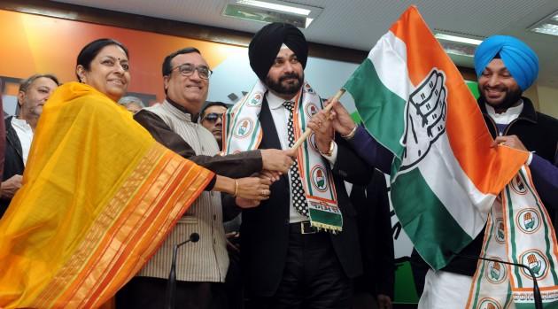 It Is My 'Ghar Wapsi', I am A Born Congressman, Says Navjot Singh Sidhu