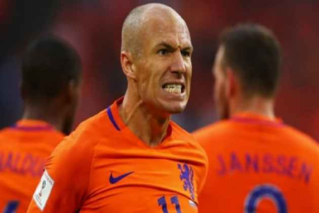 Arjen Robben Retires From International Football After Netherlands World Cup Disappointment