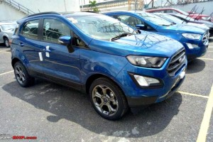 Ford EcoSport Facelift Likely To Get A Sporty Variant