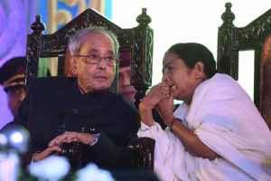 Mamata Born Rebel, Has An Aura Impossible To Ignore: Pranab Mukherjee