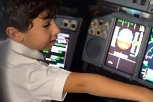 Watch: 6-Year-Old Shocks Etihad Crew With Aviation Knowledge, Becomes Co-Pilot For A Day