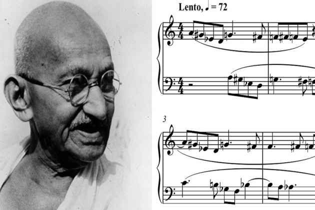 How Much Music-Minded Was The Mahatma?