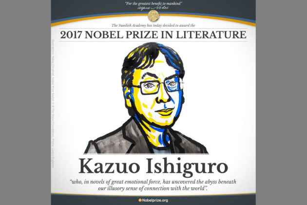 British Author Kazuo Ishiguro Wins Nobel Literature Prize