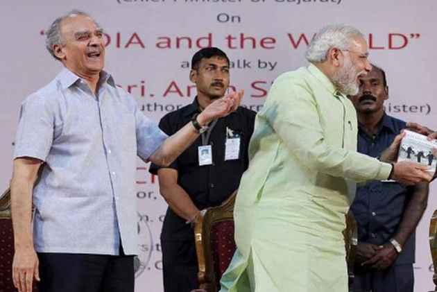 Supporting Narendra Modi Was A Mistake, Says Arun Shourie