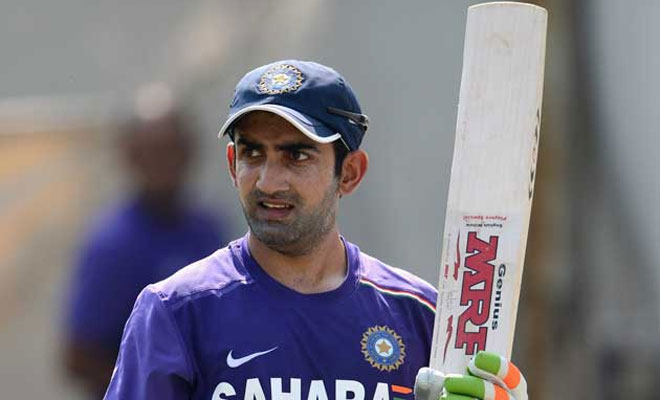 Gautam Gambhir Named Government Nominee In DDCA Managing Committee