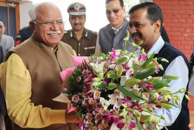 Kejriwal, Khattar Resolve To Put In 'Sustained Efforts' To Check Pollution