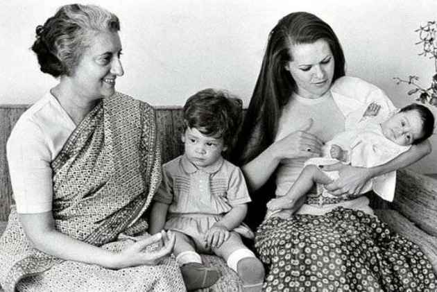 Rahul Gandhi remembers his mentor and guide, 'dadi' Indira Gandhi