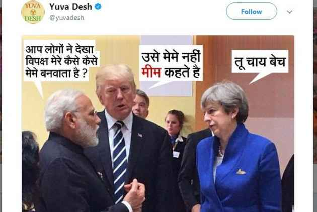 Youth Congress mocks PM Narendra Modi with 'chaiwala' meme, gets slammed