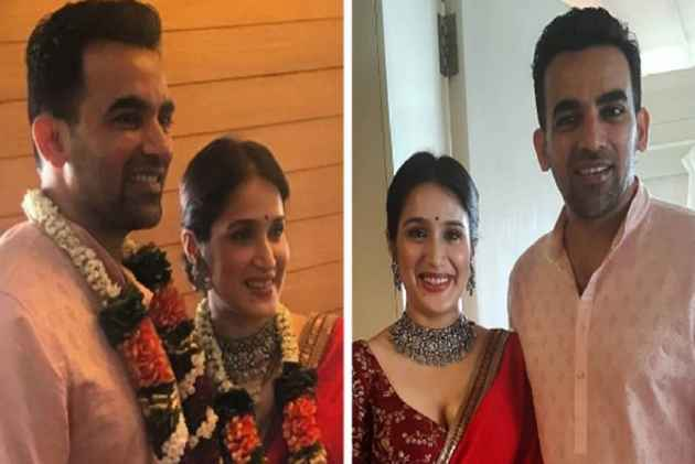 Zaheer Khan Marries Sagarika Ghatge In A Court Marriage