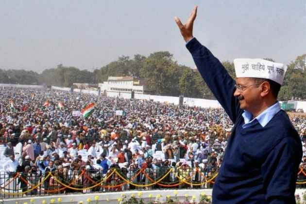 Vote for any political party, but not BJP: Kejriwal urges Gujarat