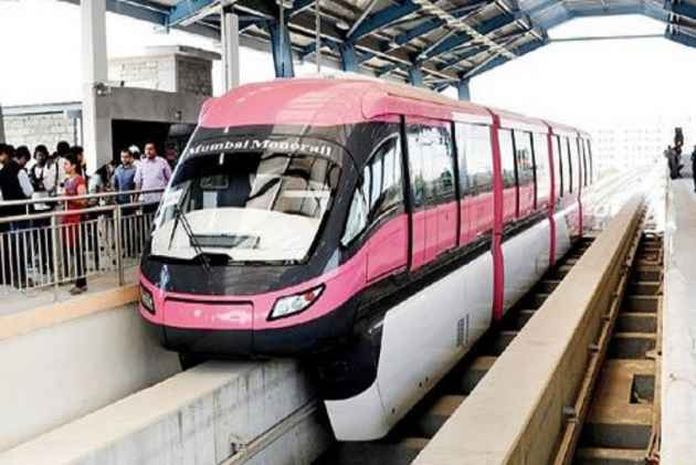 Fire breaks out on the Monorail; no casualties reported