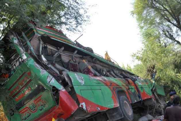24 Killed, 69 Injured As Bus Falls Into Ravine In Pakistan's Punjab Province