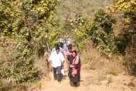 When A Young Woman IAS Officer Trekked Hostile Terrain For Hours To Hear Grievances Of Tribals