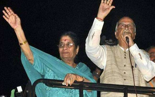 She Died A Year Ago, But Name Of LK Advani's Wife Still Figures In Gujarat Voters' List