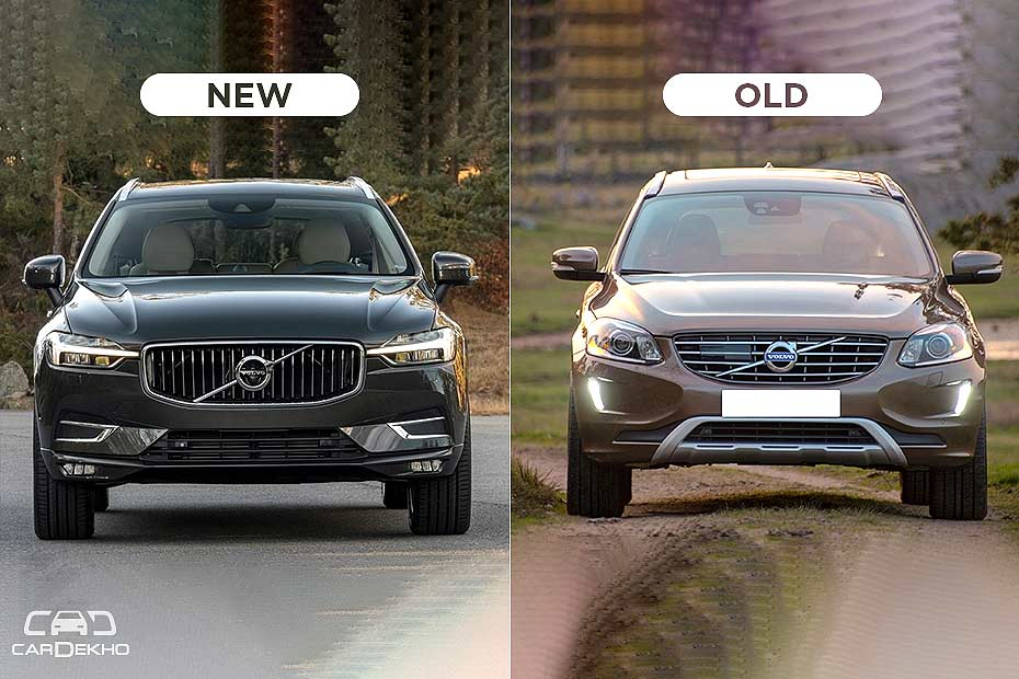 Volvo Xc60 New Vs Old