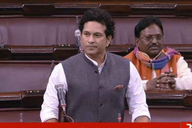 Sachin Tendulkar gets clean bowled in Rajya Sabha