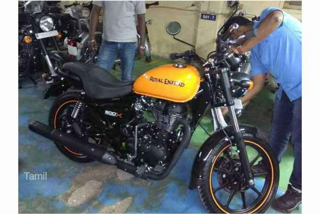 New Royal Enfield Thunderbird 500X spotted | What's New in Thunderbird 500 X