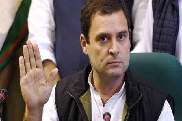 Rahul Gandhi accuses BJP of weaving 'web of deceit'