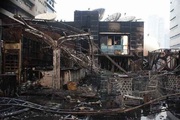 BMC's action after Mumbai Pub Fire, 100 illegal structures demolished