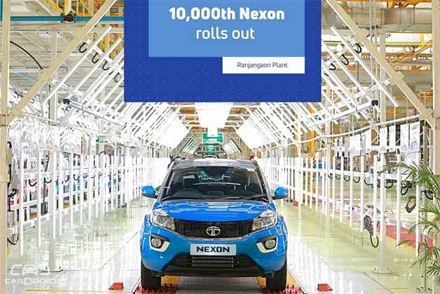 10,000th Tata Nexon Rolls Out