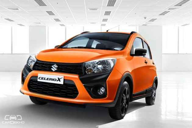 Maruti Suzuki CelerioX Launched In India