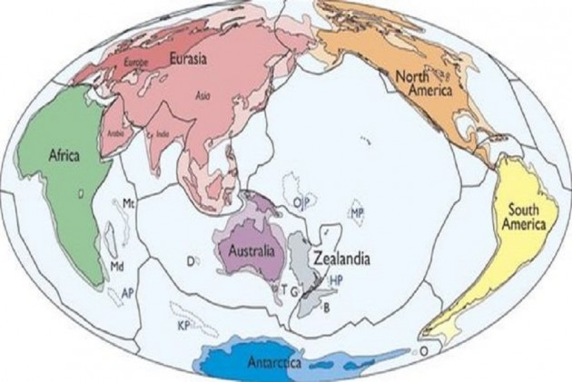 Discover 8th Continent Zealandia Submerged Beneath Southwest Pacific
